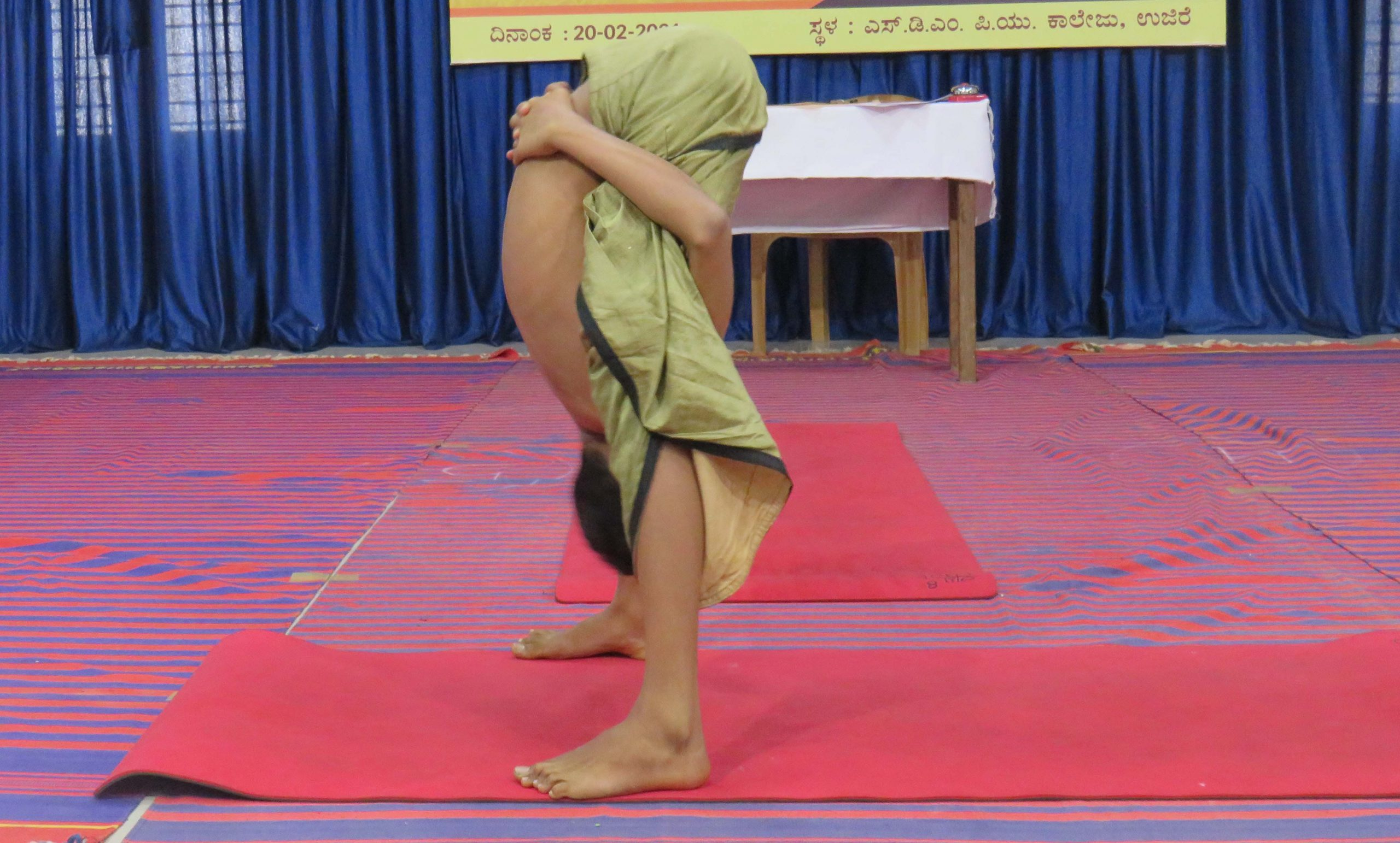D.K. District level Boys and Girls Yoga competition